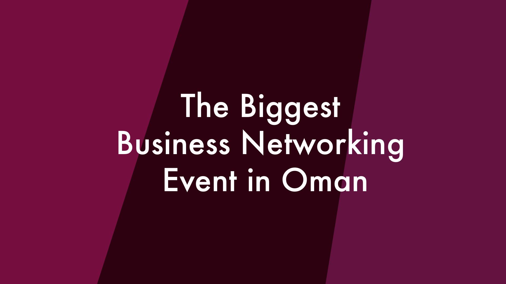 Back 2 Business Oman Statement