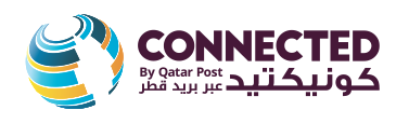 Connected By Qatar Post Branding