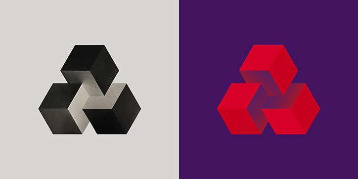 Natwest old and new logo side-by-side