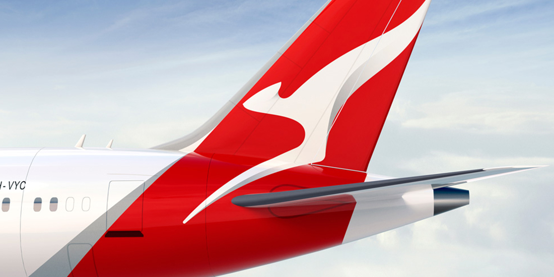 Qantas Livery Tailwing